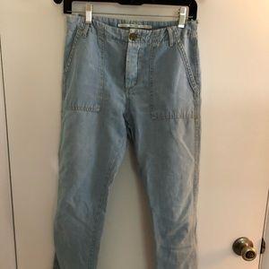 ZARA denim pants mom jeans